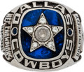 Football Collectibles:Others, 1970 Dallas Cowboys NFC Championship Ring Presented to Ralph Neely....