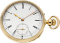 Timepieces:Pocket (pre 1900) , Le Roy & Fils Hgers. De La Marine Palais Royal Paris 18k Gold Quarter Hour Repeater. ...