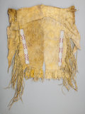 American Indian Art:Beadwork and Quillwork, A PAIR OF BOY'S SOUTHERN PLAINS BEADED HIDE LEGGINGS... (Total: 2Items)