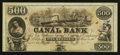 Obsoletes By State:Louisiana, New Orleans, LA - Canal Bank $500 18__ Remainder. ...