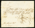 Colonial Notes:Connecticut, Connecticut Pay Table Office Payment £7 7s October 24, 1781 VeryFine.. ... (Total: 2 items)