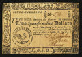 Colonial Notes:South Carolina, South Carolina December 23, 1776 $2 Very Fine-Extremely Fine.. ...