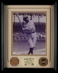 Baseball Collectibles:Uniforms, Babe Ruth Highland Mint Game Used Bat Display....