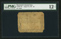 Colonial Notes:Maryland, Maryland August 14, 1776 $6 PMG Fine 12 Net.. ...