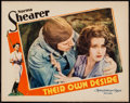 "Movie Posters:Romance, Their Own Desire (MGM, 1929). Lobby Card (11"" X 14""). Romance.. ..."
