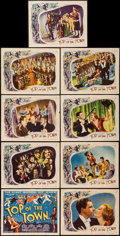 "Top of the Town (Universal, 1937). Lobby Card Set of 9 (11"" X 14""). Musical. ... (Total: 9 Items)"