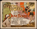 "Movie Posters:Adventure, Yellow Fingers (Fox, 1926). Title Lobby Card (11"" X 14"").Adventure.. ..."