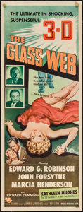 """Movie Posters:Crime, The Glass Web (Universal International, 1953). Insert (14"""" X 36"""") 3-D Style. Crime.. ..."""