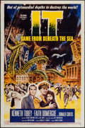 "Movie Posters:Science Fiction, It Came from Beneath the Sea (Columbia, 1955). One Sheet (27"" X41""). Science Fiction.. ..."