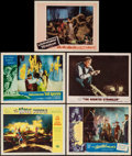 "Movie Posters:Science Fiction, The Mole People & Others Lot (Universal International, 1956).Lobby Cards (5) (11"" X 14""). Science Fiction.. ... (Total: 5 Items)"