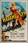 "Movie Posters:War, Madame Spy (Universal, 1942). One Sheet (27"" X 41""). War.. ..."