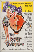 """Movie Posters:Exploitation, The Beat Generation & Other Lot (MGM, 1959). One Sheets (2)(27"""" X 41""""). Exploitation.. ... (Total: 2 Items)"""