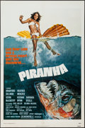 "Movie Posters:Horror, Piranha (New World, 1978). One Sheet (27"" X 41""). Horror.. ..."