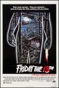 """Movie Posters:Horror, Friday the 13th (Paramount, 1980). One Sheet (27.25"""" X 40.5""""). Horror.. ..."""