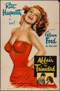 "Movie Posters:Film Noir, Affair in Trinidad (Columbia, 1952). One Sheet (27"" X 41""). FilmNoir.. ..."