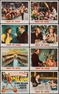 "Movie Posters:Musical, Easy to Love (MGM, 1953). Lobby Card Set of 8 (11"" X 14"").Musical.. ... (Total: 8 Items)"