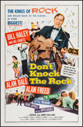 "Movie Posters:Rock and Roll, Don't Knock the Rock (Columbia, 1957). One Sheet (26.75"" X 41.5"").Rock and Roll.. ..."