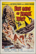 "Movie Posters:Adventure, She Gods of Shark Reef (American International, 1958). One Sheet(27"" X 41""). Adventure.. ..."