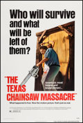 """Movie Posters:Horror, The Texas Chainsaw Massacre (Bryanston, 1974). One Sheet (27.25"""" X 40.75""""). Horror.. ..."""