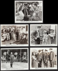 """Movie Posters:Drama, The Wagons Roll at Night (Warner Brothers, 1941). Photos (5) (8"""" X 10""""). Drama.. ... (Total: 5 Items)"""