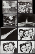 Movie Posters:Science Fiction, When Worlds Collide (Paramount, 1951). Trimmed Photos (19) (VariousSizes). Science Fiction.. ... (Total: 19 Items)