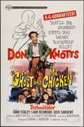 """Movie Posters:Comedy, The Ghost and Mr. Chicken (Universal, 1966). One Sheet (27"""" X 41"""").Comedy.. ..."""