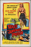 """Movie Posters:Exploitation, Riot in Juvenile Prison & Other Lot (United Artists, 1959). One Sheets (2) (27"""" X 41""""). Exploitation.. ... (Total: 2 Items)"""