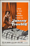 """Movie Posters:Drama, Johnny Trouble (Warner Brothers, 1957). One Sheet (27"""" X 41"""") & Lobby Card Set of 8 (11"""" X 14""""). Drama.. ... (Total: 9 Items)"""