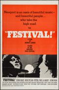 "Movie Posters:Documentary, Festival (Peppercorn-Wormser, 1967). One Sheet (27"" X 41""). Documentary.. ..."