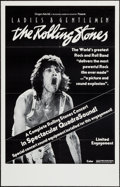 "Movie Posters:Rock and Roll, Ladies and Gentlemen: The Rolling Stones (Dragon Aire, 1973). OneSheet (24"" X 38""). Rock and Roll.. ..."