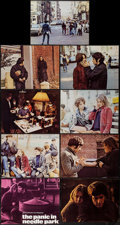 """Movie Posters:Drama, The Panic in Needle Park (20th Century Fox, 1971). Lobby Card Set of 9 (10.5"""" X 14"""" & 11"""" X 14""""). Drama.. ... (Total: 9 Items)"""