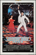 "Movie Posters:Drama, Saturday Night Fever (Paramount, 1977). One Sheet (27"" X 41""). Drama.. ..."