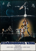 "Movie Posters:Science Fiction, Star Wars (20th Century Fox, 1977). Swedish One Sheet (27.5"" X39.5""). Science Fiction.. ..."