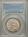 Seated Half Dollars: , 1841-O 50C AU58 PCGS. PCGS Population (11/29). NGC Census: (17/32). Mintage: 401,000. Numismedia Wsl. Price for problem fre...