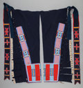 American Indian Art:Beadwork and Quillwork, A PAIR OF NEZ PERCE BEADED CLOTH LEGGINGS. c. 1900... (Total: 2Items)