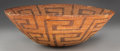 American Indian Art:Baskets, A PIMA COILED BOWL. c. 1920. ...