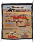 Other, TWO NAVAJO PICTORIAL RUGS. ... (Total: 2 Items)