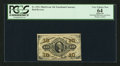 Fractional Currency:Third Issue, Fr. 1251 10¢ Third Issue PCGS Apparent Very Choice New 64.. ...