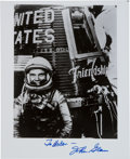 Autographs:Celebrities, John Glenn Signed Friendship 7 Photo. ...