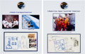 Explorers:Space Exploration, Skylab II (SL-3) and Skylab III (SL-4) Crew-Signed Launch Covers....