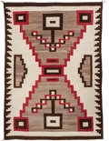 American Indian Art:Weavings, A NAVAJO REGIONAL RUG. Crystal. c. 1925...