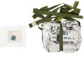 "Explorers:Space Exploration, Apollo Space Food and Personal Hygiene Pouches: ""Day 9 - Meal A""and Cleansing Cloth, Both Originally from Buzz Aldrin's Perso...(Total: 2 )"