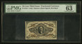 Fractional Currency:Third Issue, Fr. 1253 10¢ Third Issue PMG Choice Uncirculated 63 EPQ.. ...