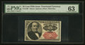 Fractional Currency:Fifth Issue, Fr. 1309 25¢ Fifth Issue PMG Choice Uncirculated 63.. ...