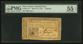 Colonial Notes:New Jersey, New Jersey March 25, 1776 1s PMG About Uncirculated 55 EPQ.. ...