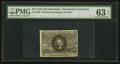 Fractional Currency:Second Issue, Fr. 1283 25¢ Second Issue PMG Choice Uncirculated 63 EPQ.. ...