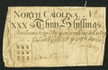 Colonial Notes:North Carolina, North Carolina March 9, 1754 30s Very Good.. ...