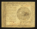 Colonial Notes:Continental Congress Issues, Continental Currency September 26, 1778 $60 About New.. ...