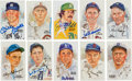 Baseball Collectibles:Others, 1980's Perez-Steele Signed Postcards Lot of 43. ...