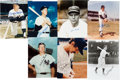 Autographs:Photos, 1930's-80's New York Yankees Hall of Famers & Greats Signed8x10 Photographs Lot of 32....
